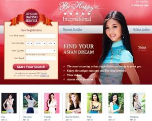 Asian Dating Website