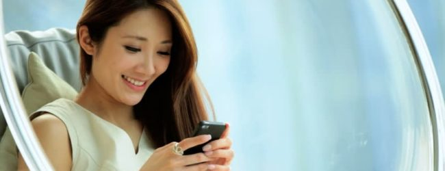 Mobile online dating: stay in touch with your China bride!