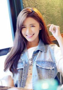 Asian girlfriend