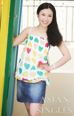 Asian bride XiaYi from Yiwu