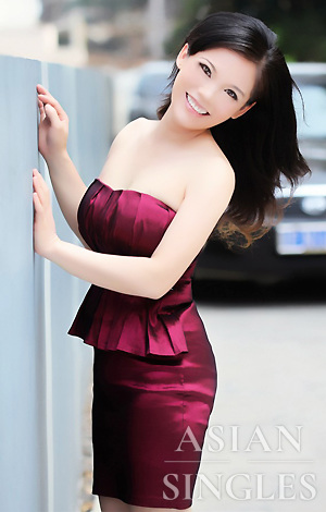 Asian bride Jing from Nanning