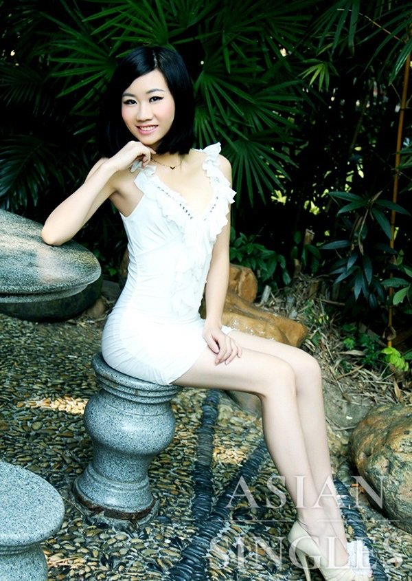 Asian bride Lina from Shenzhen
